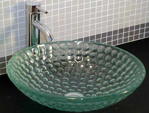 Paradise Glass and Mirror offers Glass Sinks in Marco Island and Naples, FL