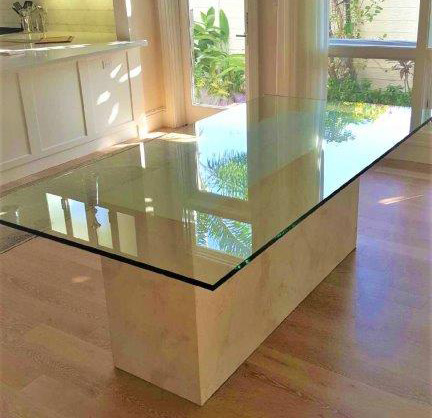 Paradise Glass and Mirror offers Glass Table Tops in Marco Island and Naples, FL