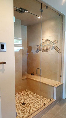 Paradise Glass and Mirror offers steam showers in Marco Island and Naples, FL