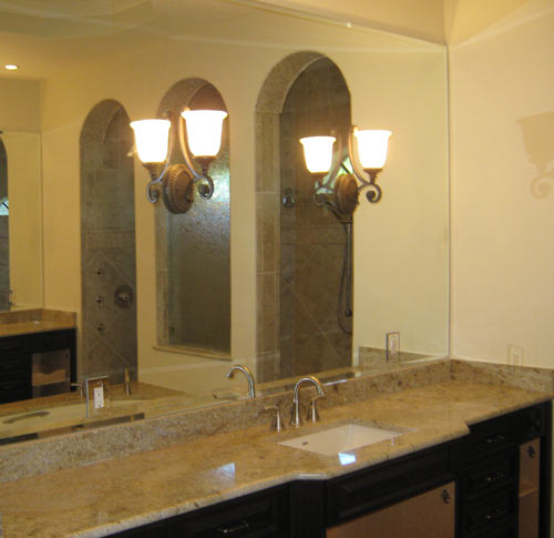 Paradise Glass and Mirror offers Vanity Mirrors in Port Royal, FL