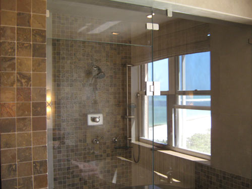 Paradise Glass and Mirror offers steam showers in Port Royal, FL